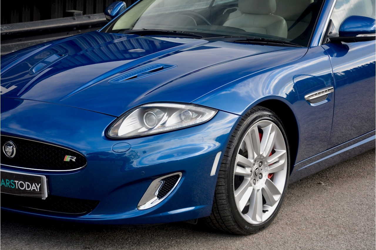 Jaguar XKR 1 Former Keeper + Kyanite Blue + Ivory + Active Performance Exhaust - Large 12