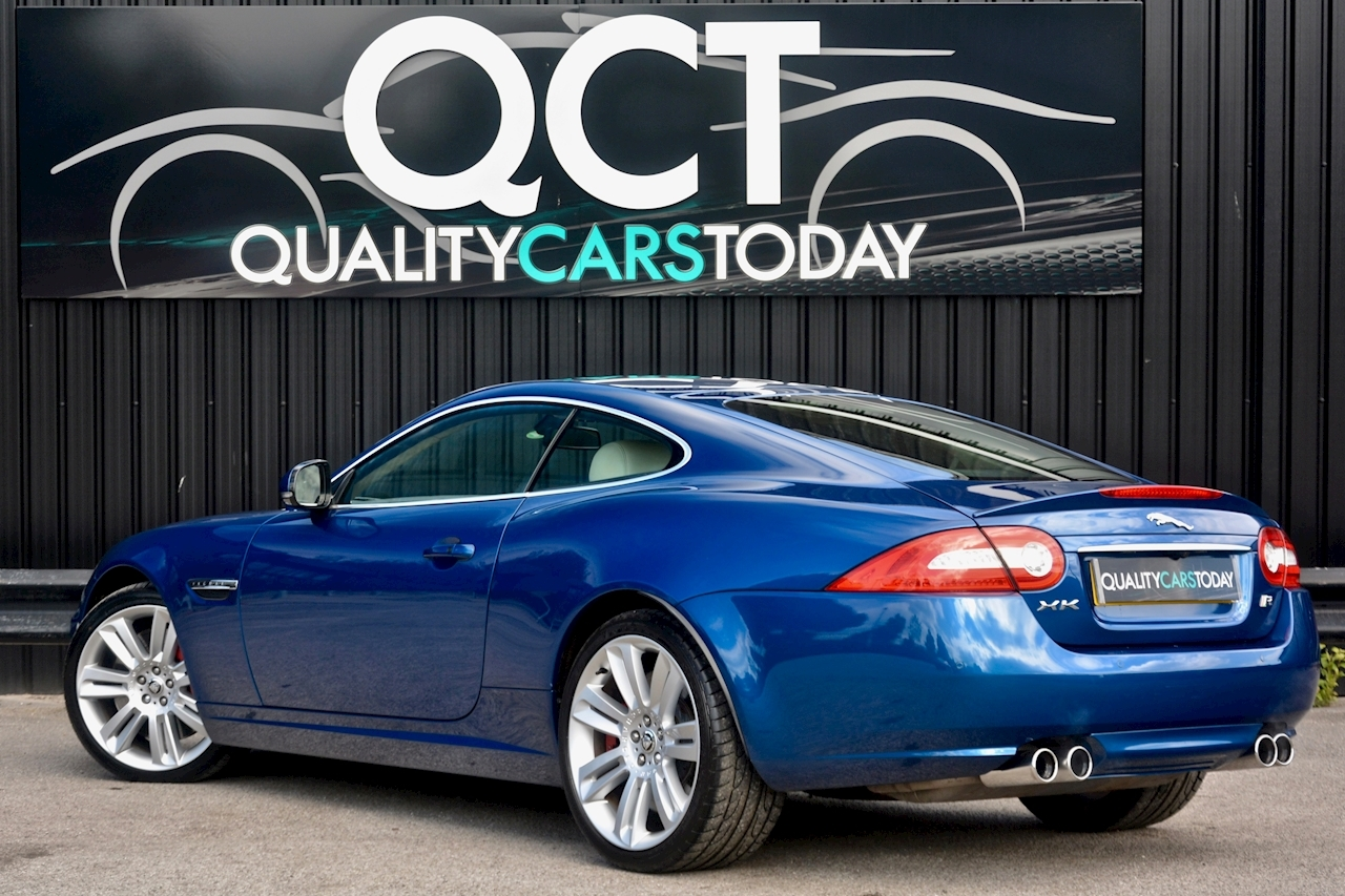 Jaguar XKR 1 Former Keeper + Kyanite Blue + Ivory + Active Performance Exhaust - Large 22