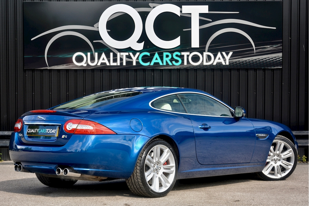 Jaguar XKR 1 Former Keeper + Kyanite Blue + Ivory + Active Performance Exhaust - Large 23