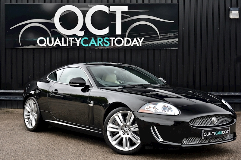 XKR 5.0 V8 Supercharged Coupe