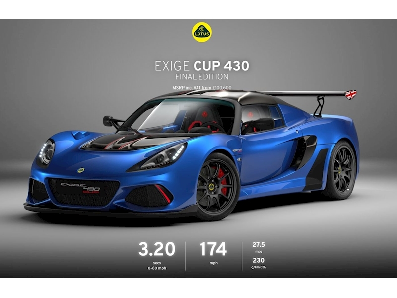 Lotus Exige CUP 430 Final Edition - Large 0