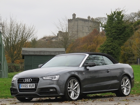 A5 Tdi S Line Special Edition Plus Convertible 2.0 Cvt Diesel
