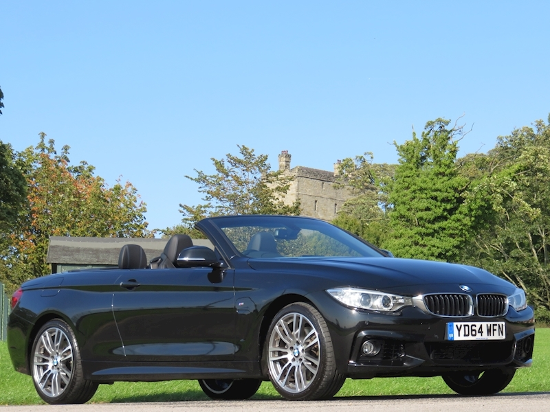 Bmw 4 Series 435D Xdrive M Sport Convertible 3.0 Automatic Diesel