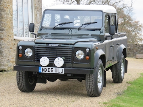 Defender 110 Td5 Double Cab 2.5 4dr Light 4X4 Utility Manual Diesel