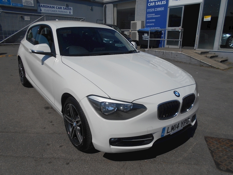 1 Series 118I Sport Hatchback 1.6 Manual Petrol