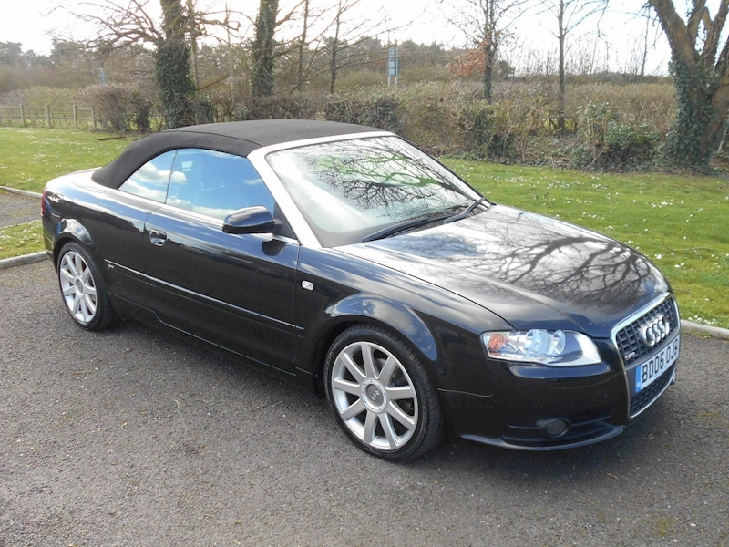 A4 Tdi S Line Dpf 2.0 2dr Convertible Manual Diesel