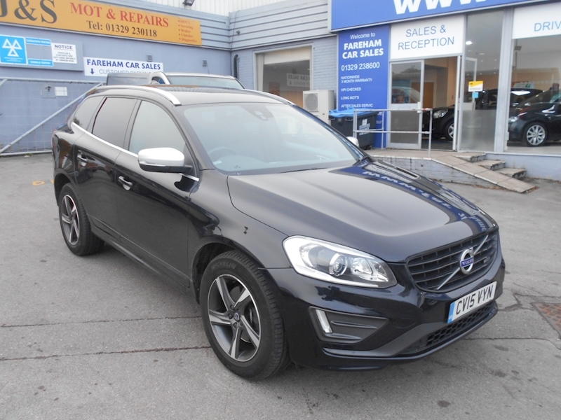 Xc60 D5 R-Design Lux Nav Awd Estate 2.4 Manual Diesel