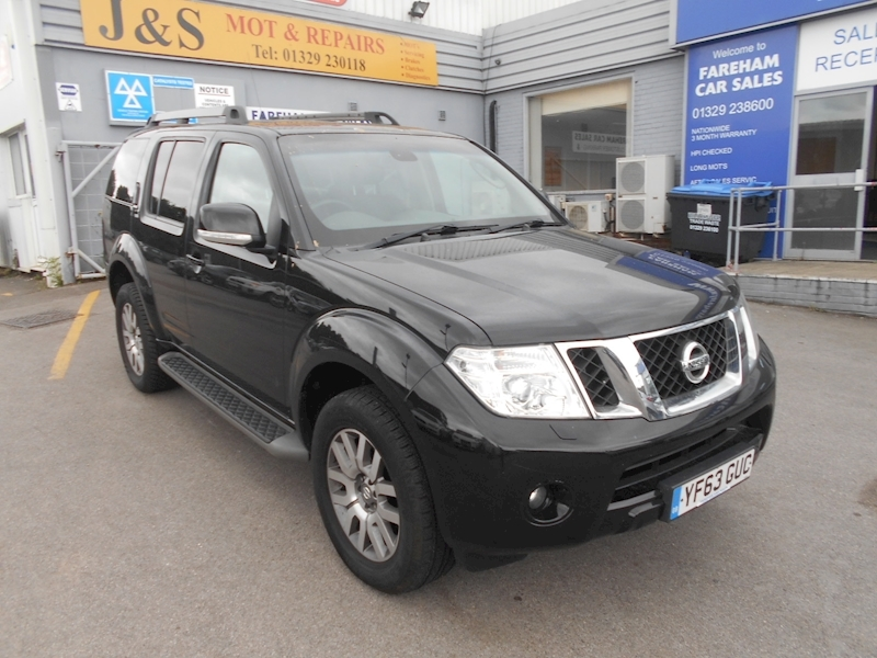 Pathfinder Dci Tekna Estate 2.5 Manual Diesel
