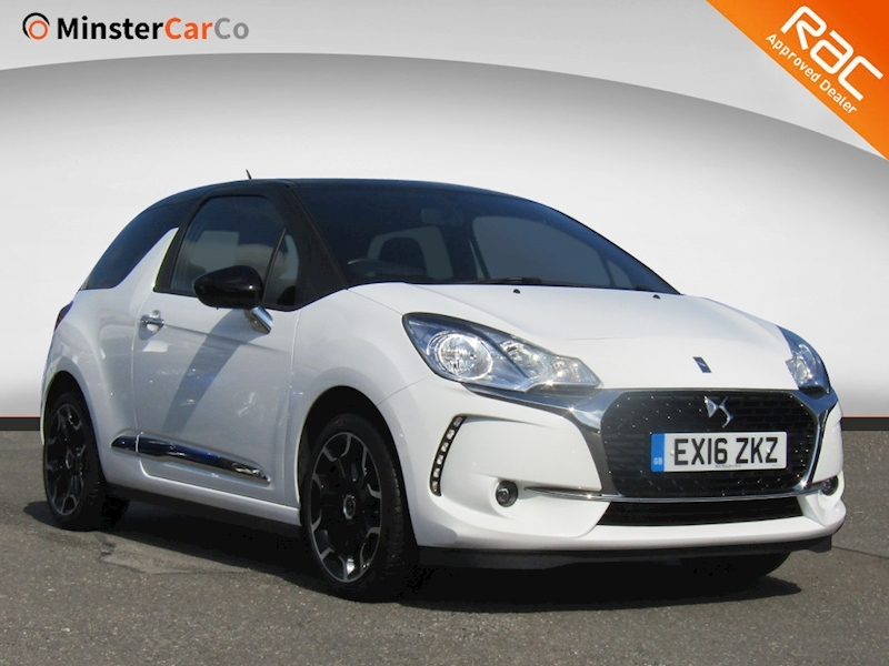 Ds 3 Puretech Elegance S/S 1.2 3dr Hatchback Manual Petrol
