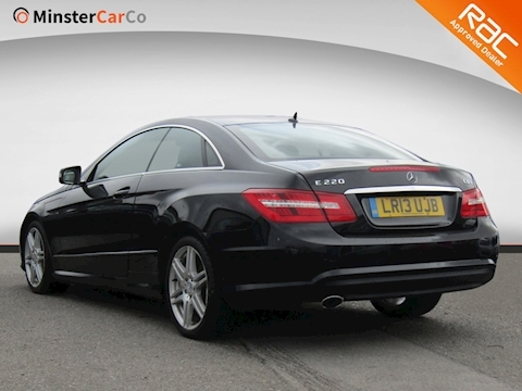 E Class E220 Cdi Blueefficiency Sport Coupe 2.1 Automatic Diesel