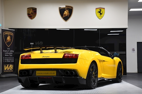 Gallardo LP 570-4 Spyder Performante 5.2 2dr Convertible Semi Auto Petrol