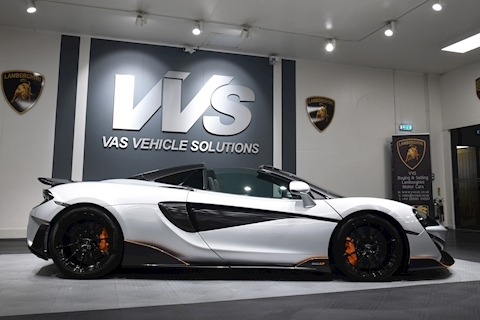 600LT Spider VAT QUALIFYING