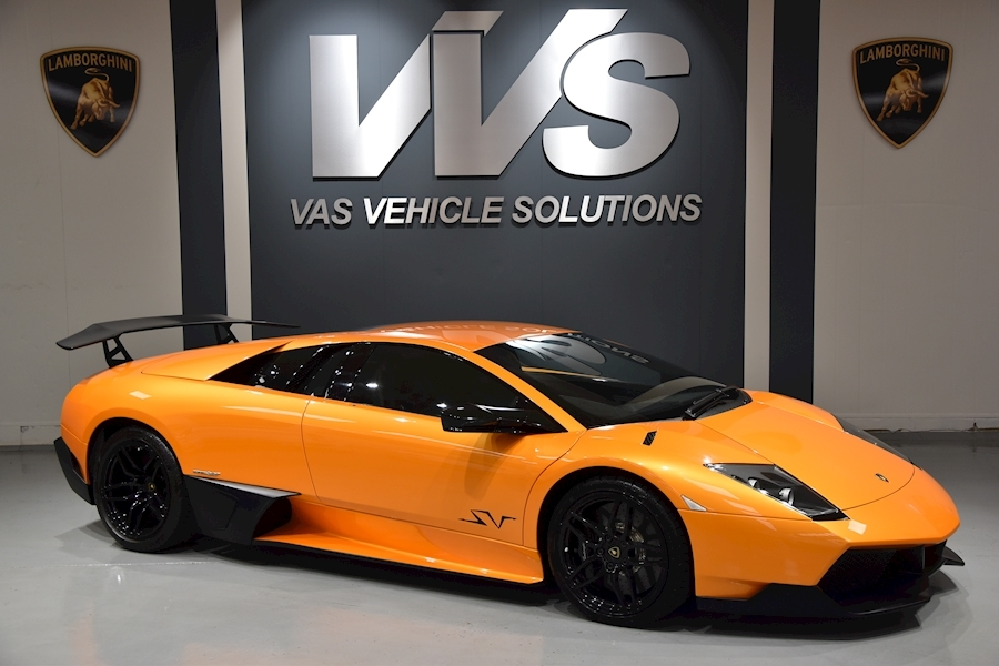 Lamborghini Murcielago LP 670-4 SV  UK SUPPLIED LOW MILEAGE