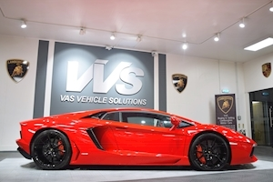 Lamborghini Aventador LP 700-4 ONE OF 3 IN ROSSO MARS HIGH SPEC