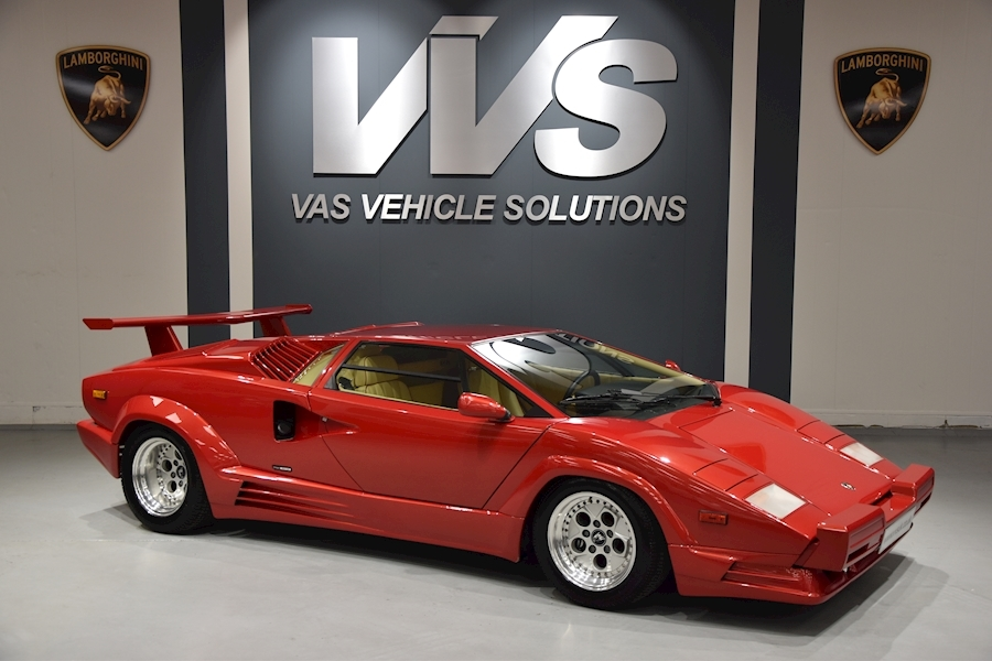 Lamborghini Countach 25th Anniversary ONLY 800 MILES