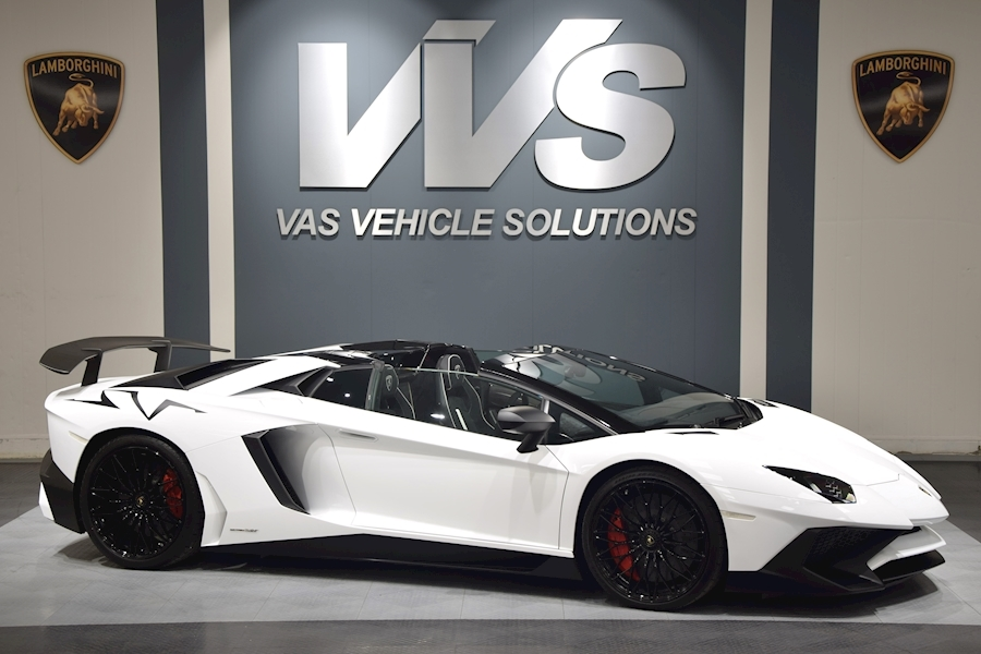 Lamborghini Aventador SV LP750-4 Roadster VAT QUALIFTYING
