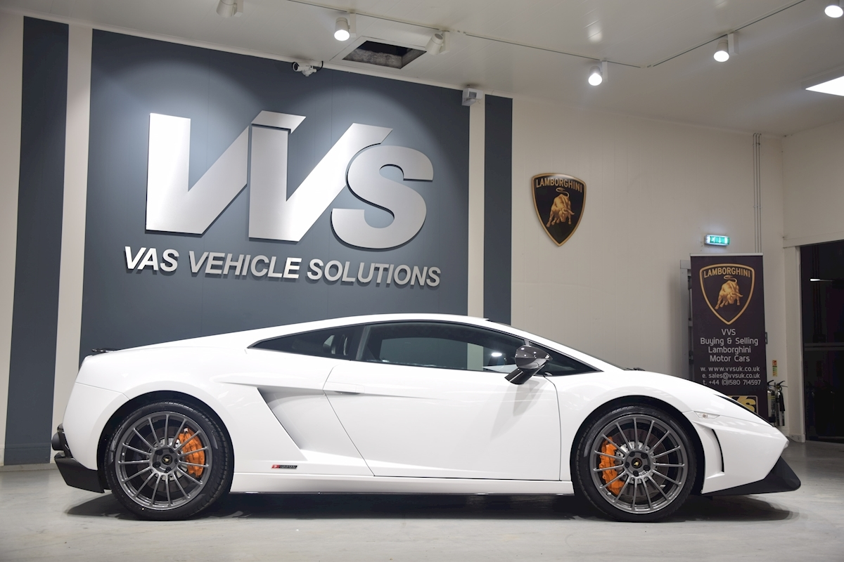 Used Lamborghini Gallardo Lp550 2 Superleggera Vvs
