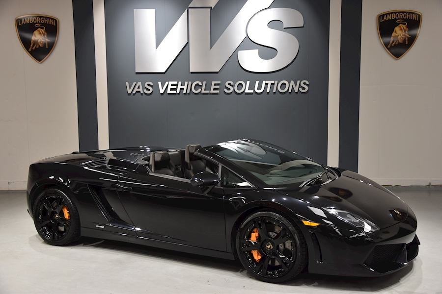 Gallardo Spyder 5.0 2dr HIGH SPEC LOW MILEAGE