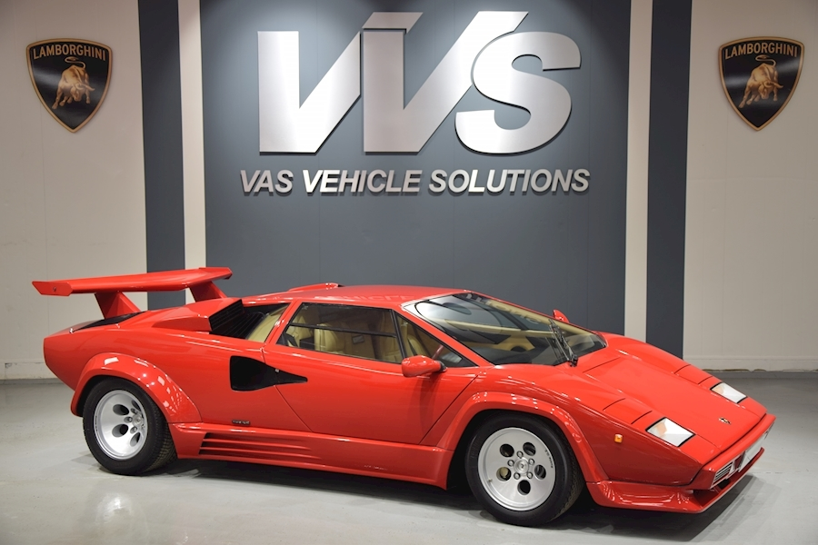 Countach 5000 QV Coupe 1 OF 14 RHD CARS