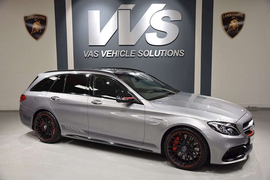 Mercedes C Class Amg C 63 S Edition 1