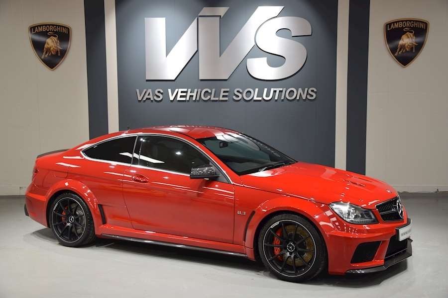 C Class C63 Amg Black Series UK supplied car