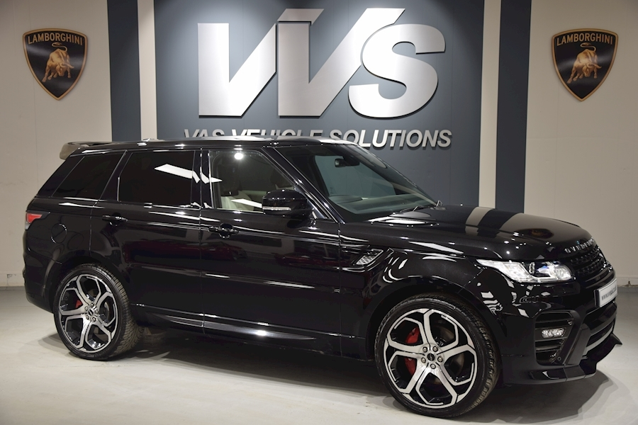 Range Rover Sport Autobiography Dynamic 4.4 TDV8 OVERFINCH