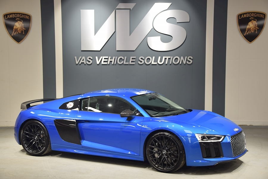 R8 V10 Plus Quattro Coupe 5.2 S tronic HIGH SPEC