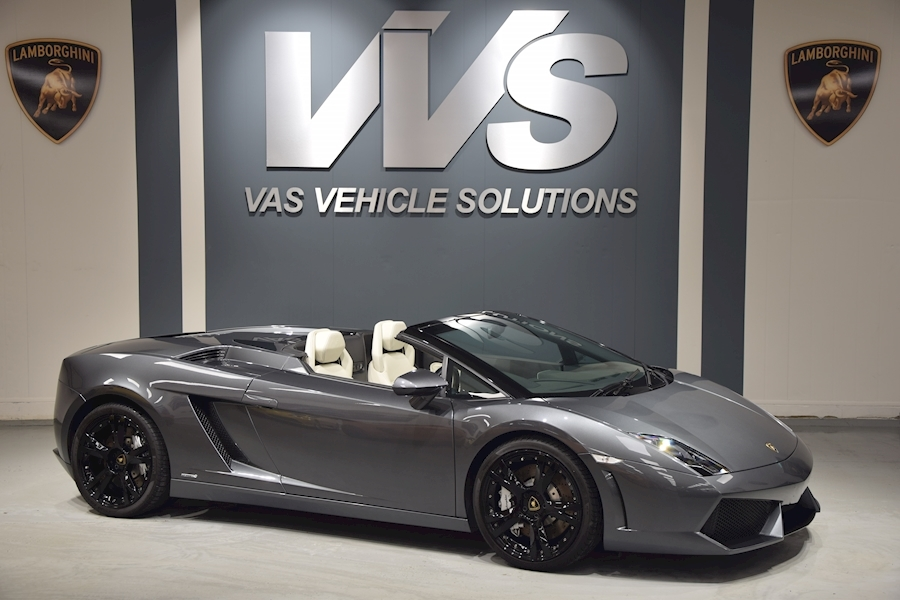 Gallardo LP 560-4 Spyder 5.2 2dr Convertible HIGH SPEC
