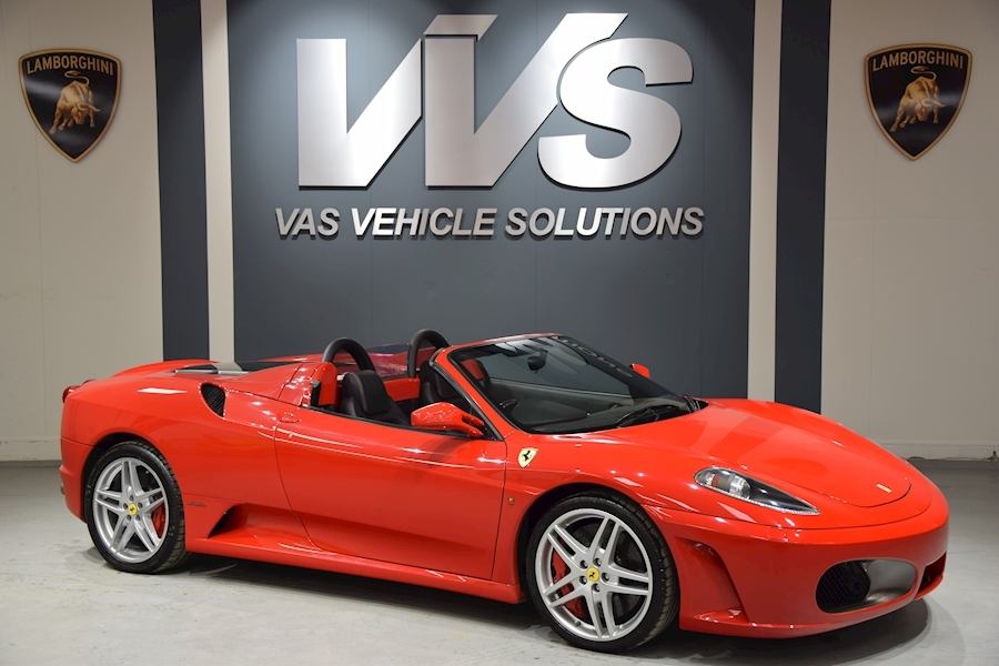 F430 Spider F1 4.3 2dr Convertible HIGH SPEC