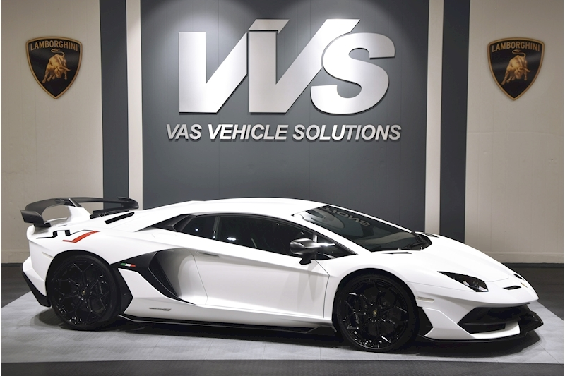 Aventador Lp 770-4 Svj 6.5 Coupe Semi Auto VAT QUALIFYING