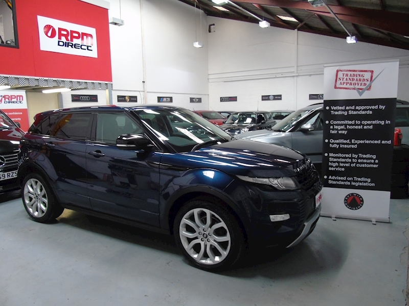 Land Rover Range Rover Evoque Sd4 Dynamic Lux 5dr - HUGE SPEC