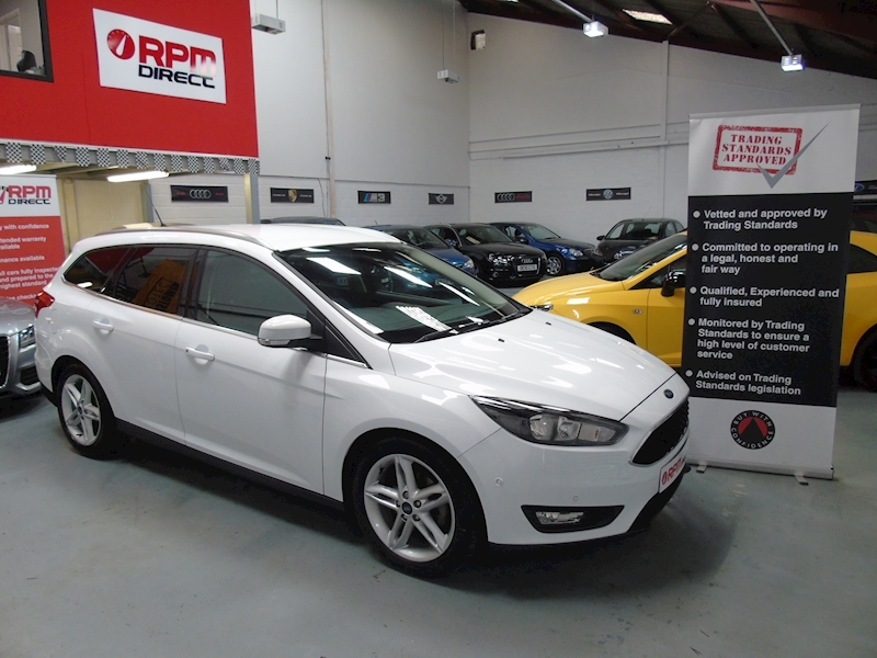Ford Focus Zetec 1.6 Tdci 5dr Estate