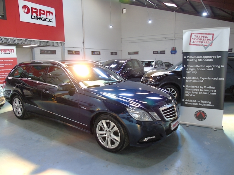 Mercedes E Class E350 CDI Blueefficiency Avantgarde 5dr Estate