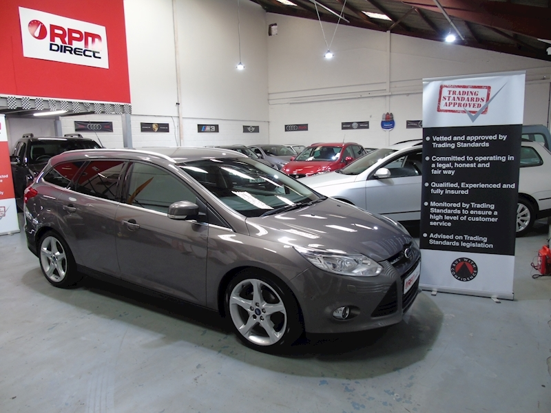 Ford Focus 125 Titanium X Estate 5dr