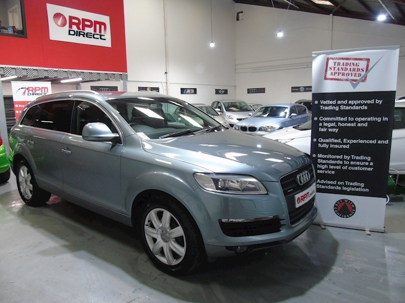 Audi Q7 TDI Quattro SE 5dr - HIGH SPECIFICATION