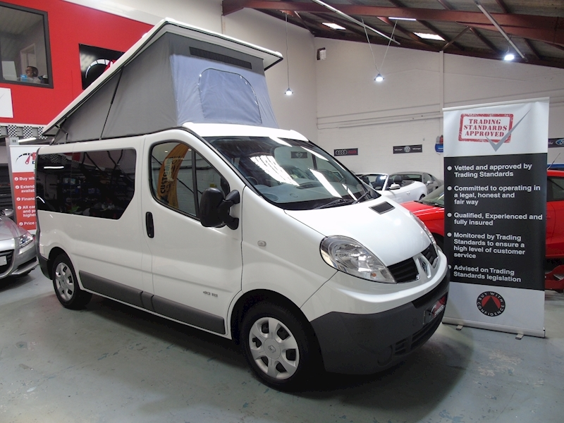 Renault Trafic SL27 DCI - 4 BERTH CAMPER - NEW CONVERSION - NO VAT