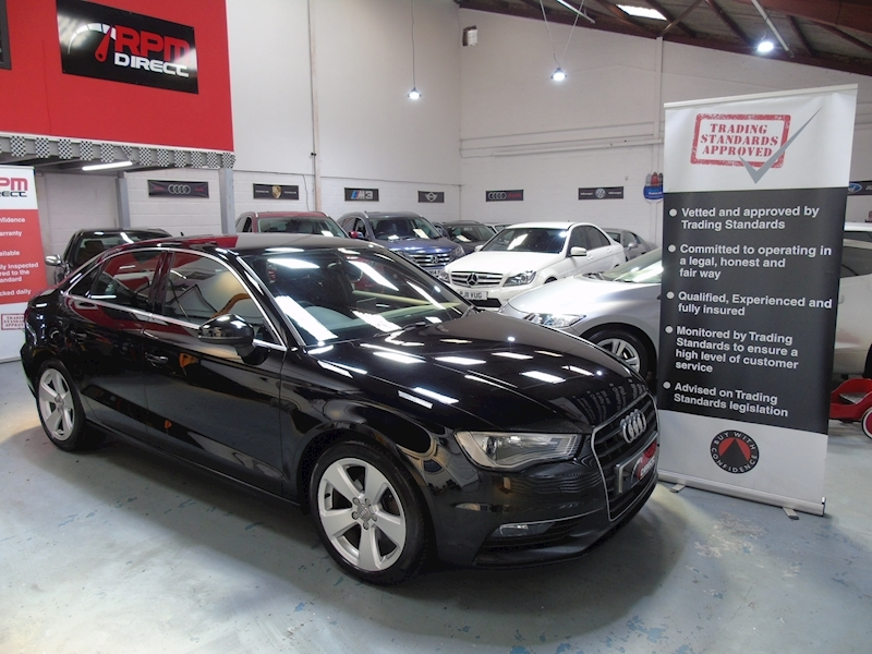 A3 TDI Sport 4dr - 1 OWNER 2.0 4dr Saloon Manual Diesel