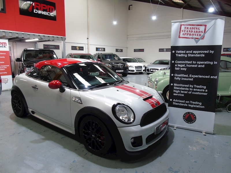 Mini Mini Coupe 1.6 John Cooper Works 2dr - Large 0