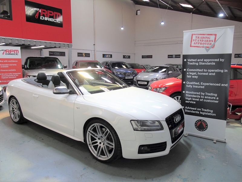 Audi A5 S5 TFSI Quattro Convertible 2dr - HUGE SPECIFICATION