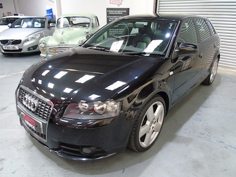 A3 TDI S Line Sportback 5dr - P/X TO CLEAR 2.0 5dr Hatchback Manual Diesel