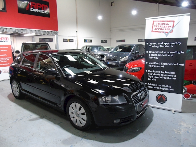 Audi A3 TDI E Special Edition 5dr - £30 RFL