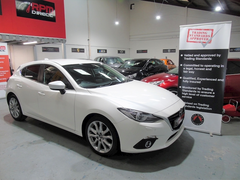 Mazda Mazda 3 Sport Nav 5dr - LEATHER - £30 RFL
