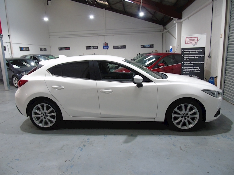 Mazda Mazda 3 2.0 Sport Nav 5dr - LEATHER - £30 RFL - Large 6