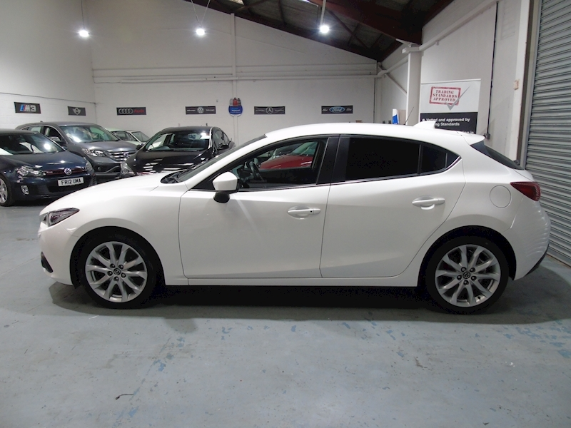 Mazda Mazda 3 2.0 Sport Nav 5dr - LEATHER - £30 RFL - Large 7