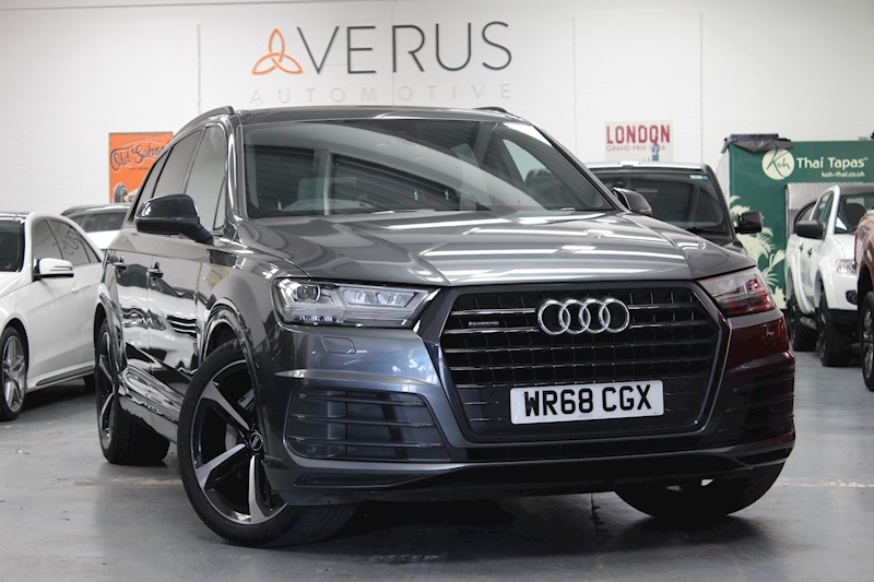 Q7 Tdi Quattro S Line Black Edition Estate 3.0 Automatic Diesel