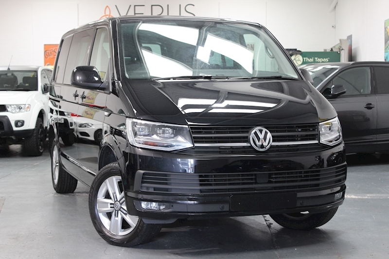 Transporter T30 Tdi Kombi Highline Bmt Van With Side Windows 2.0 Semi Auto Diesel