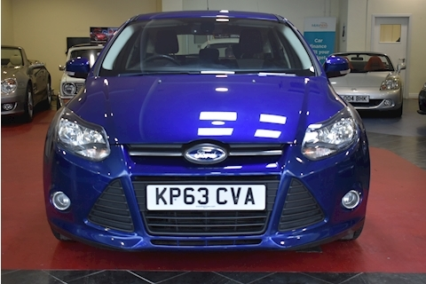 Focus Zetec Navigator Tdci Hatchback 1.6 Manual Diesel