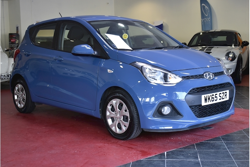 I10 Se Blue Drive Hatchback 1.0 Manual Petrol