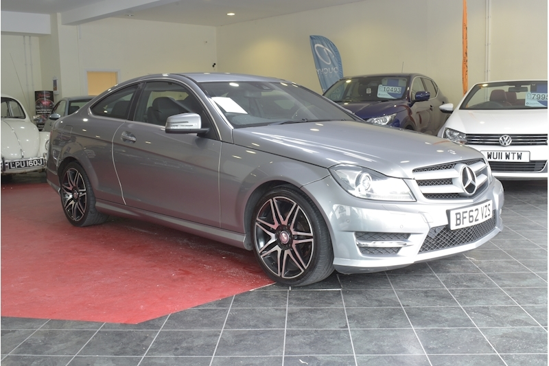 Mercedes-Benz C Class C220 Cdi Blueefficiency Amg Sport Plus