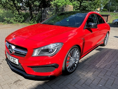 Mercedes-Benz Cla Amg Cla 45 4Matic